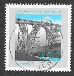 Sellos del Mundo : Europa : Alemania : 1972 - Centenario del Puente Müngsten