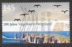 Sellos de Europa - Alemania -  2570 -  Centenario del Instituto Ornitológico de Helgoland