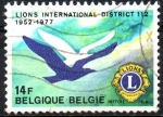 Stamps Belgium -  25th  ANIVERSARIO  DEL  DISTRITO  112  DEL  CLUB  LEÓN.  Scott 983.