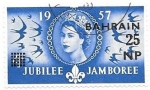 de Asia - Bahrein -  Isabel II