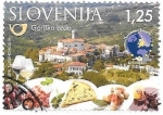 Sellos del Mundo : Europa : Eslovenia : alimentos típicos