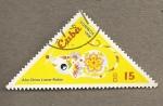 Stamps Cuba -  Año chino lunar-ratón
