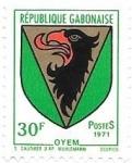 Sellos de Africa - Gabón -  escudo