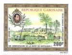 Sellos del Mundo : Africa : Gabón : 150 º Muerte de Napoleón