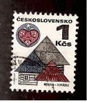 de Europa - Checoslovaquia -  INTERCAMBIO