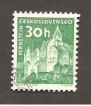 Stamps Czechoslovakia -  CASTILLO