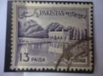 Sellos de Asia - Pakistán -  Shalimar- Shalimar garden- Lahore - Patrimonio de la Humanidad - UNESCO.