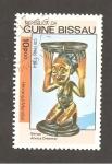 Sellos del Mundo : Africa : Guinea_Bissau : ARTE