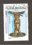 Sellos del Mundo : Africa : Guinea_Bissau : RESERVADO DAVID MERINO