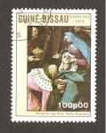 Sellos de Africa - Guinea Bissau -  INTERCAMBIO