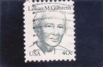 Sellos del Mundo : America : Estados_Unidos : LILLIAN M.GILBRETH
