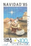 Stamps America - Chile -  Navidad