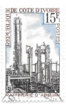 Stamps Africa - Ivory Coast -  refineria