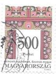 Sellos de Europa - Hungría -  motivos decorativos