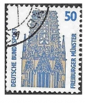 Stamps Germany -  1524 - Monumentos
