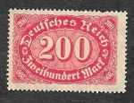 Stamps Germany -  157 - Número
