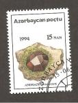 Stamps : Asia : Azerbaijan :  INTERCAMBIO