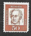 Stamps Germany -  833 - Johann Wolfgang von Goethe