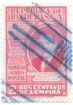Sellos de America - Honduras -  personaje