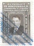 Stamps Honduras -  personaje