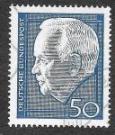 Stamps Germany -  975 - Heinrich Lübke