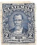 Sellos de America - Guatemala -  personaje