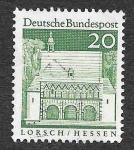 Sellos de Europa - Alemania -  939 - Edificio Alemanes