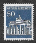 Stamps Germany -  955 - Monumentos