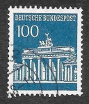 Stamps Germany -  956 - Monumentos
