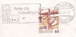 Stamps : Europe : Switzerland :  Correo por avión