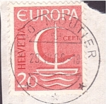 Stamps : Europe : Switzerland :  serie- Europa