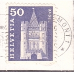 Stamps : Europe : Switzerland :  Basel