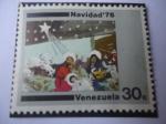 Sellos de America - Venezuela -  Navidad 1976