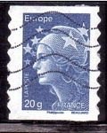 Stamps : Europe : France :  Marianne y Europa