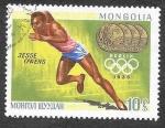 Stamps Mongolia -  516 - Ganadores de la Medalla de Oro Olímpica