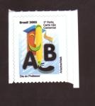 Sellos de America - Brasil -  Día del profesor