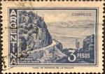 Stamps : America : Argentina :  Catamarca. Cuesta de zapata