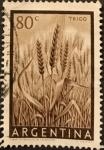 Stamps : America : Argentina :  Trigo