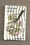 Stamps United States -  Flores y aves-Arkansas