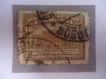 Stamps Colombia -  Estación de la Sabana - Edificio de los Ferrocarriles Nacionales-Bogotá