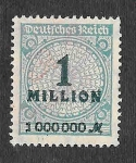 Stamps Germany -  281 - Número