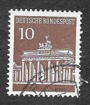 Stamps Germany -  952 - Monumento