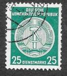 Sellos de Europa - Alemania -  O10 - Armas de la República