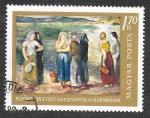 Sellos de Europa - Hungría -  1866 - Pintura