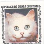 Sellos del Mundo : Africa : Guinea_Ecuatorial : gatos de raza