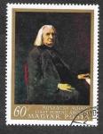 Stamps Hungary -  1820 - Pintura Húngara