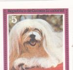 Sellos del Mundo : Africa : Guinea_Ecuatorial : perros de raza