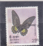 Sellos del Mundo : Europa : Sri_Lanka : Mariposa