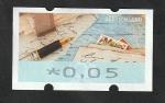 Stamps : Europe : Germany :  Escribiendo una carta