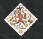 Stamps : Europe : Germany :  2702 - 500 anivº del personaje Till Eulenspiegel